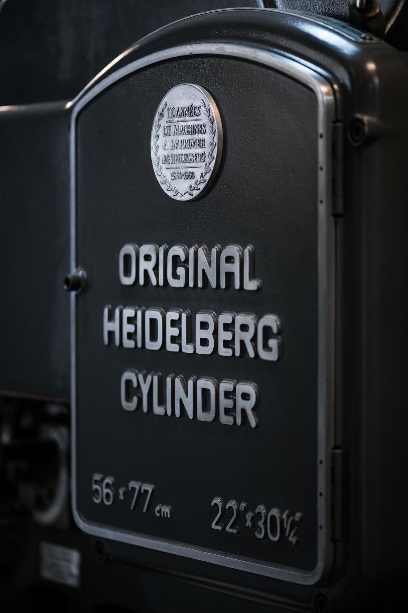marchien original Heidelberg cylinder