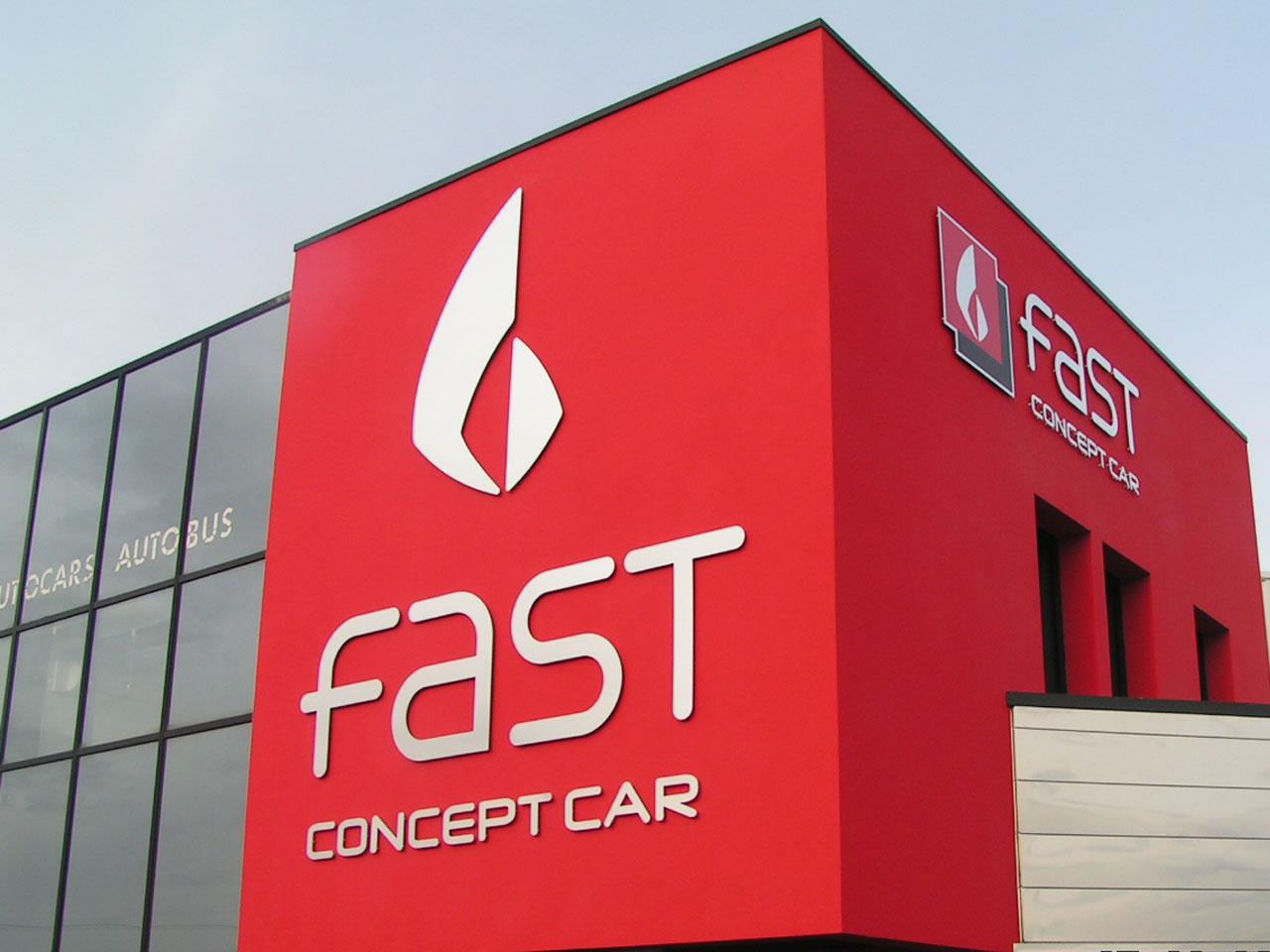 enseigne fast concept car